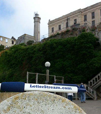 LetterStream Pen at Alcatraz